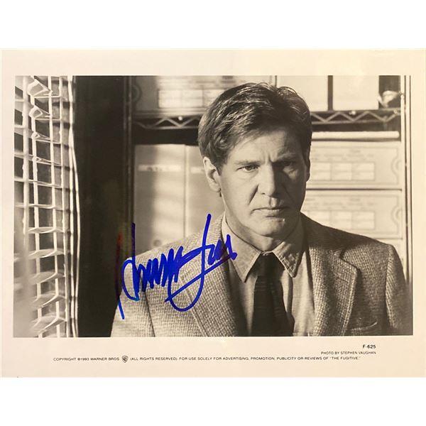 The Fugitive Harrison Ford Signed Movie Photo