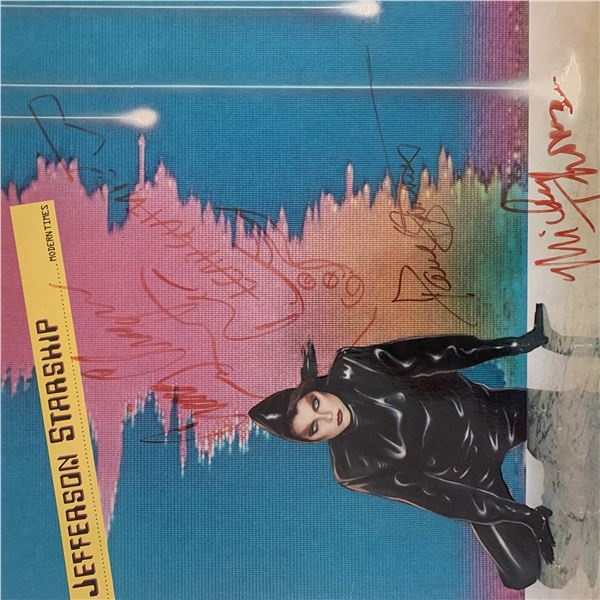 Jefferson Starship Modern Times signed album