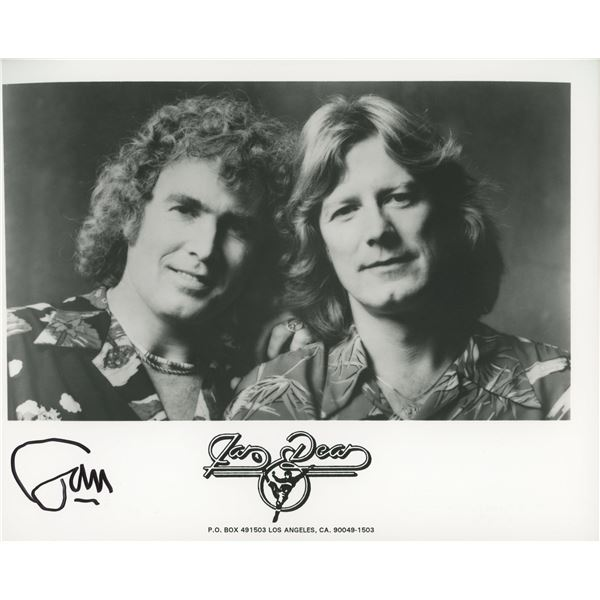 Jan and Dean Jan Berry signed photo