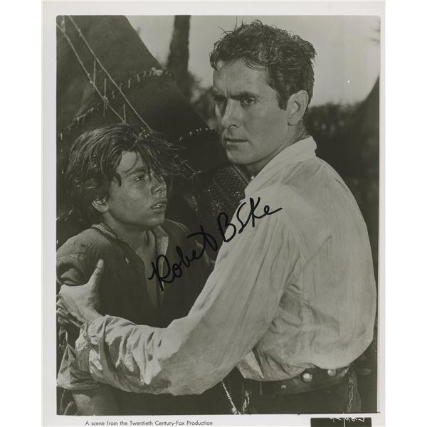 Robert Blake signed The Black Rose movie photo