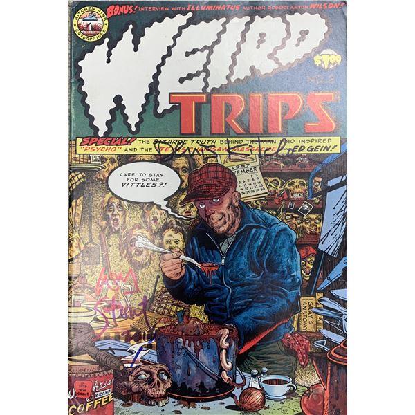 Weird Trips signed comic book