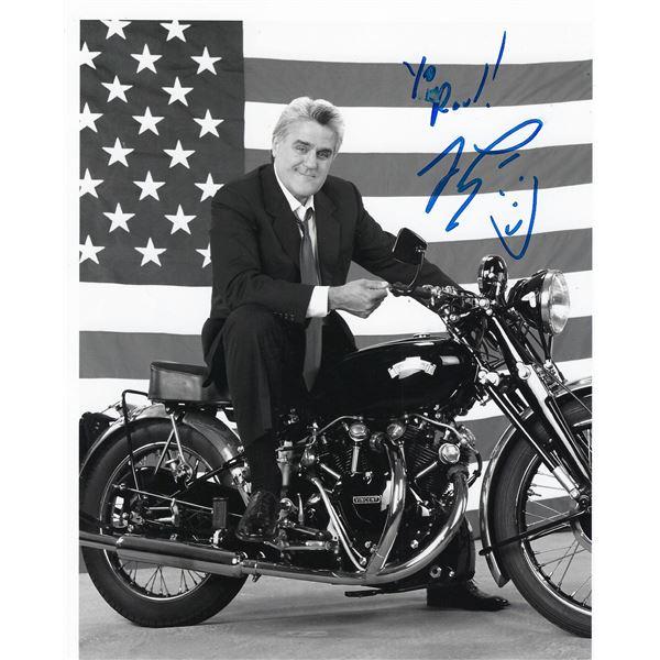 Jay Leno signed photo