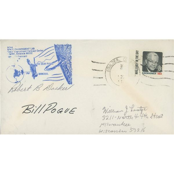 NASA Robert B. Doeker signed First Day Cover
