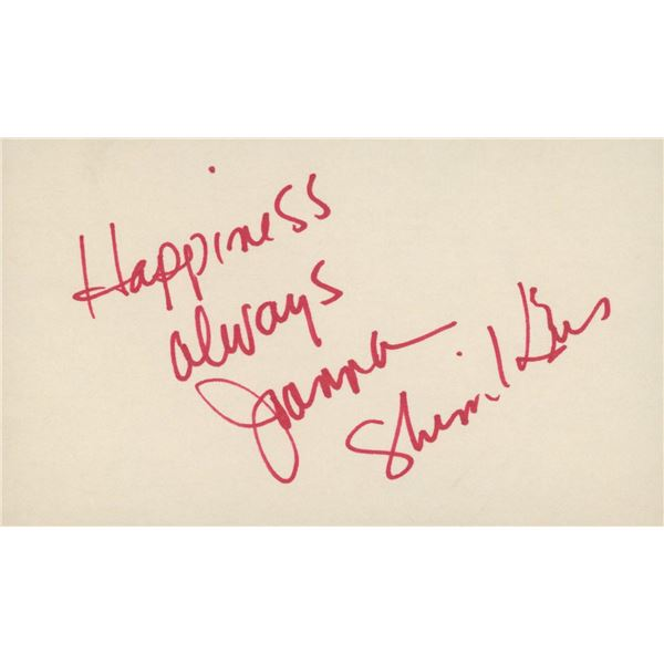 Joanna Shimkus original signature