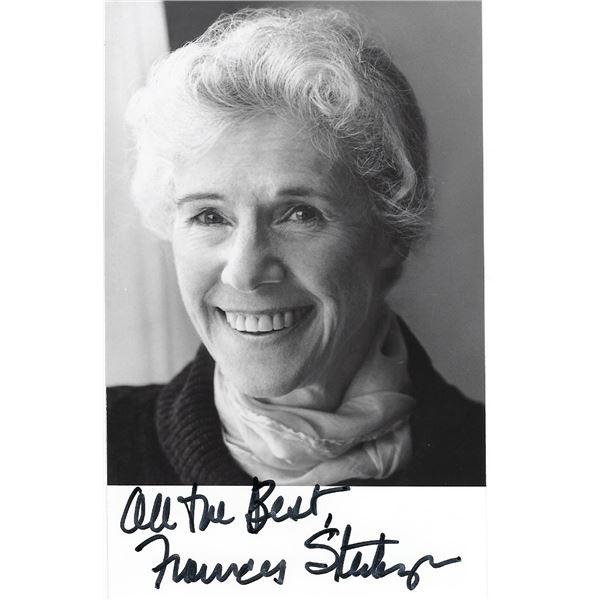 Frances Sternhagen signed photo
