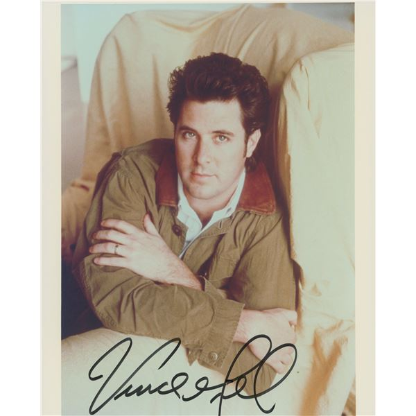 Vince Gill signed photo