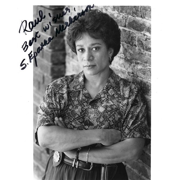 Law and Order S. Epatha Merkerson signed photo