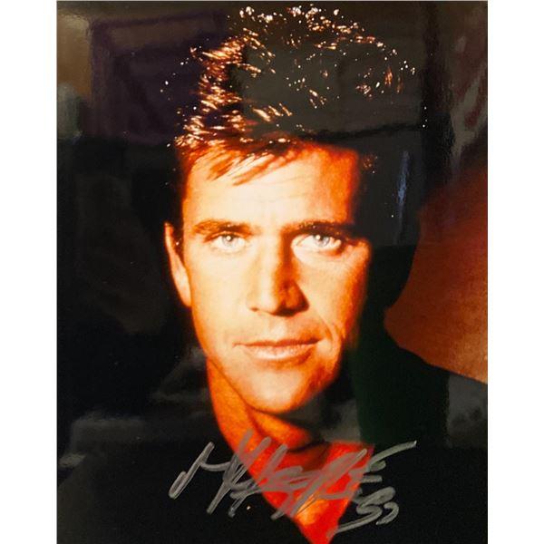 Mel Gibson Signed Photo