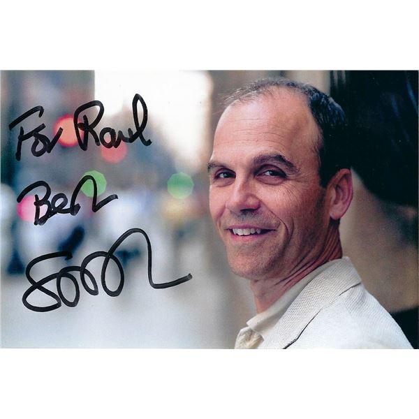 Author Scott Turow signed photo