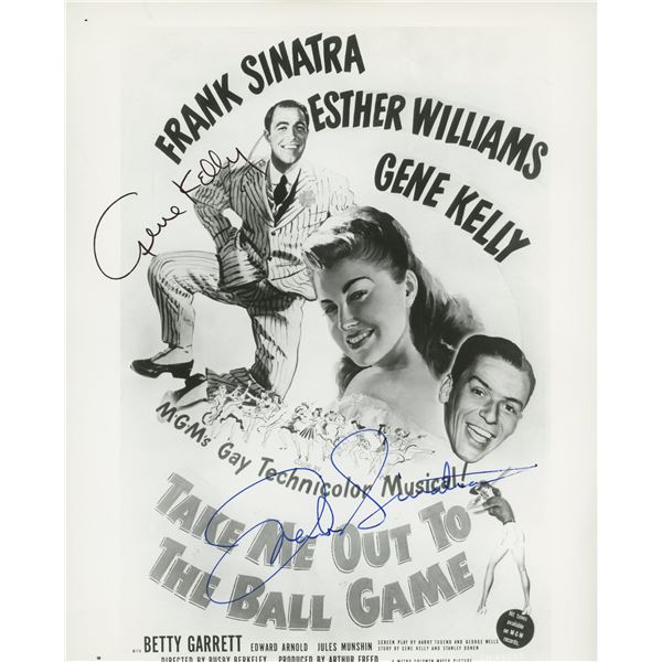 Take Me Out To The Ball Game cast signed photo