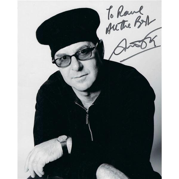 Drummer Anton Fig signed photo