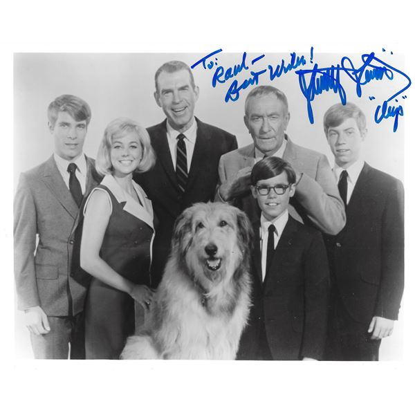 My Three Sons Stanley Livingston signed photo