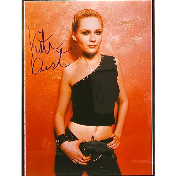 Kirsten Dunst Signed Photo
