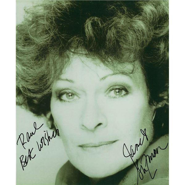 Janet Suzman signed photo