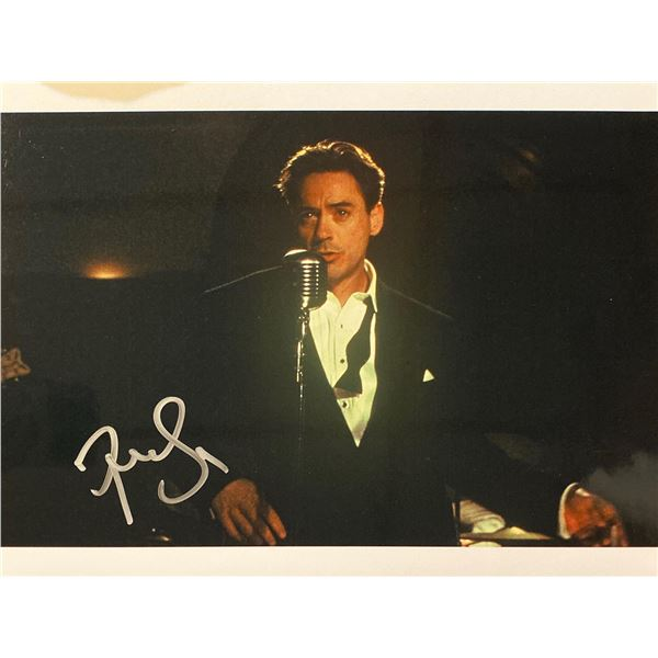 The Singing Detective Robert Downey Jr. Signed Movie Photo