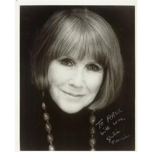 Julie Harris signed photo