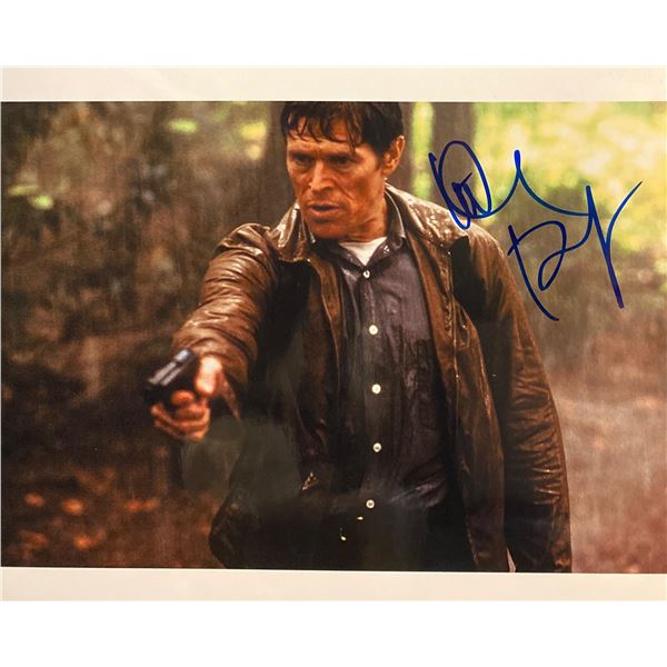 The Clearing Willem Dafoe Signed Movie Photo