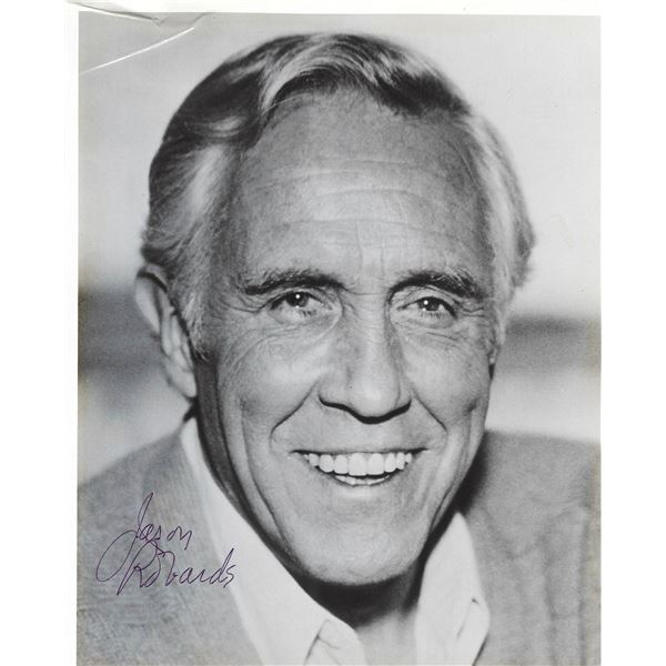 All the President's Men Jason Robards signed photo