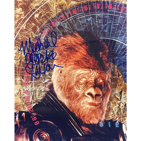 Planet of the Apes Michael Clarke Duncan Signed Movie Photo