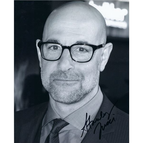 Prizzi's Honor Stanley Tucci signed photo