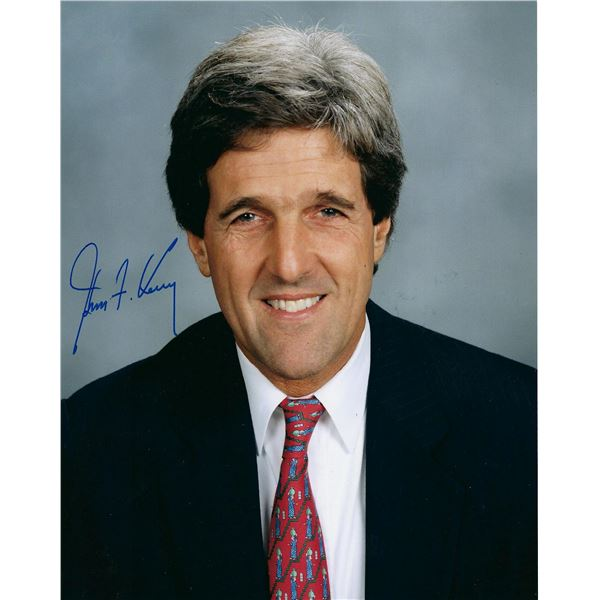 Gov. John Kerry signed photo