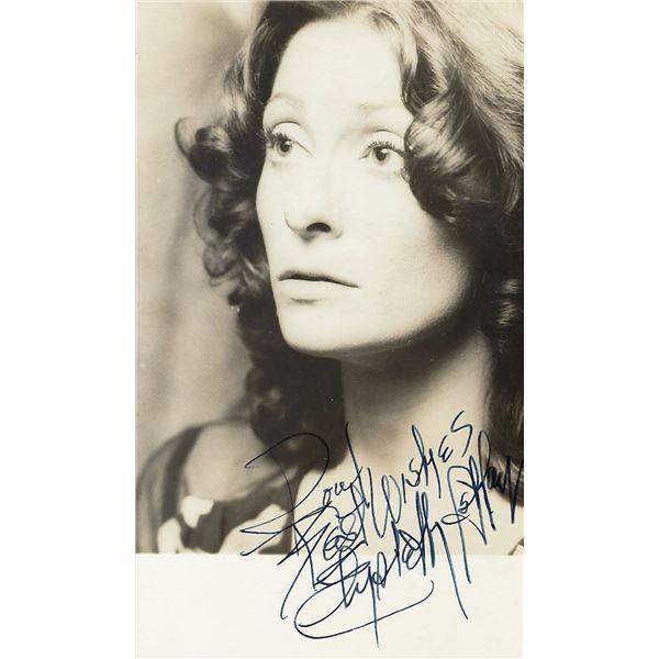 Elizabeth Ashley signed photo