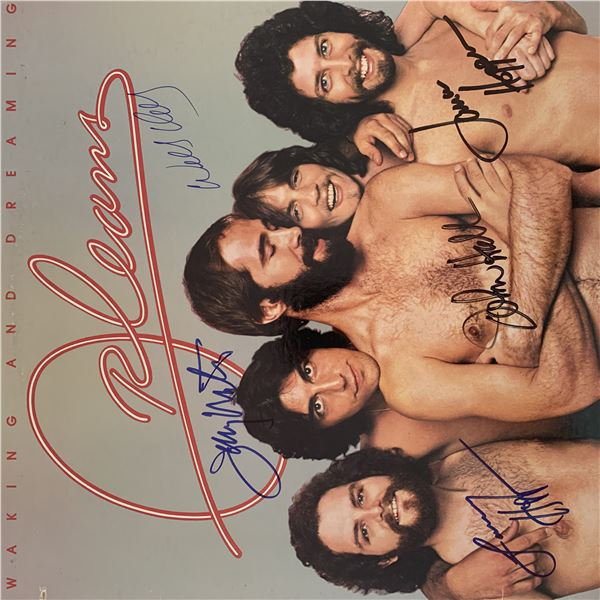 Orleans Walking and Dreaming signed album