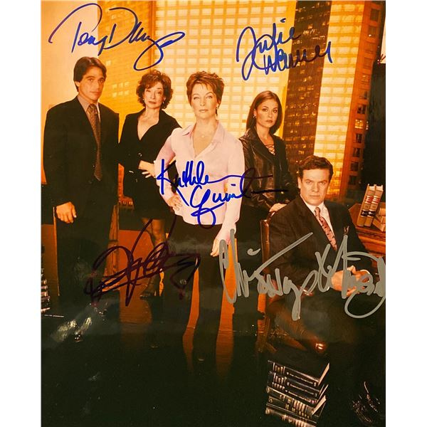 Family Law Cast Signed Photo