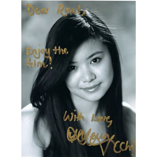 Harry Potters Katie Leung signed photo