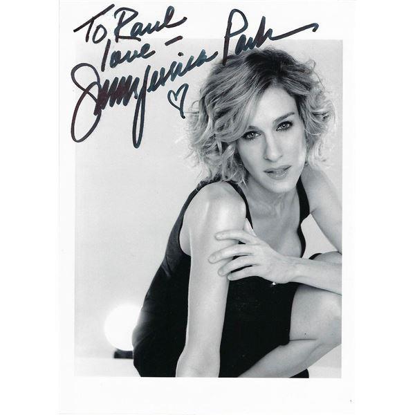 Sarah Jessica Parker signed Sex and The City photo