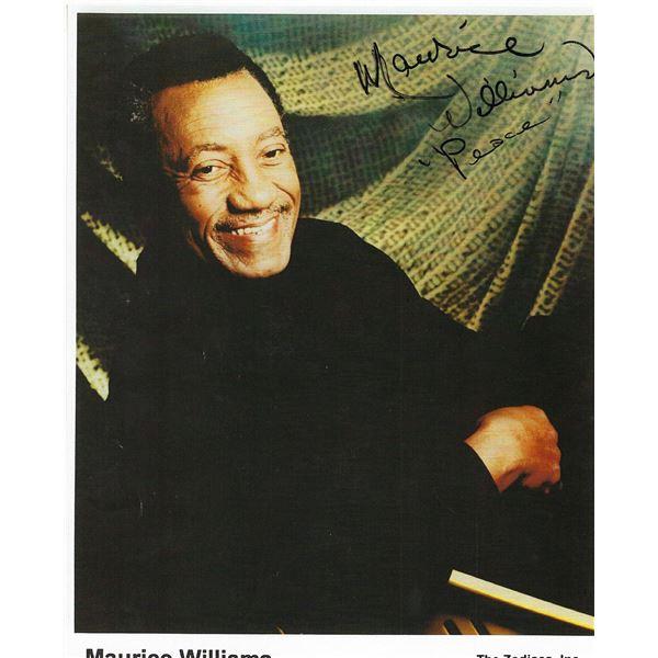Doo- Wop Maurice Williams signed photo
