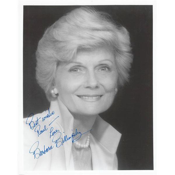 Barbara Billingsley signed photo