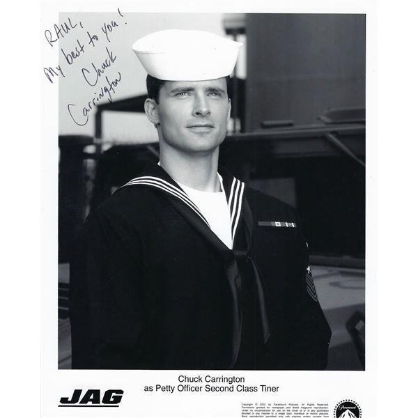 JAG Chuck Carrington signed photo