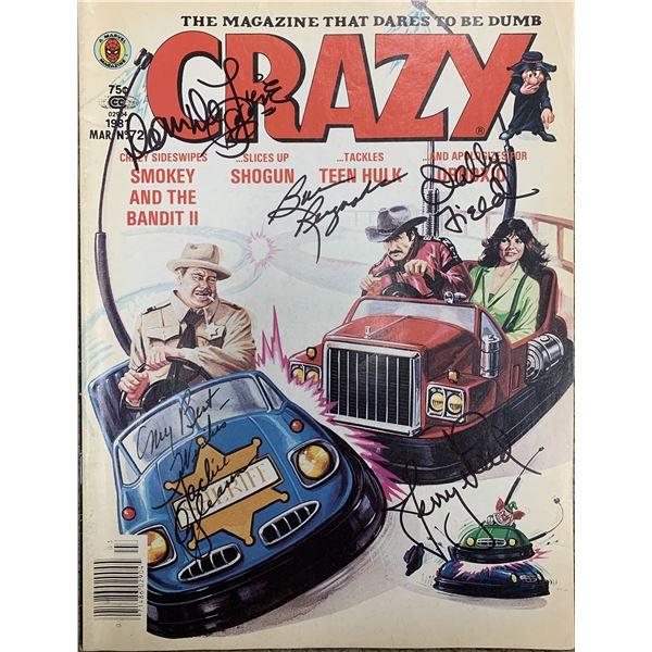 Smokey and the Bandit II signed Crazy Magazine