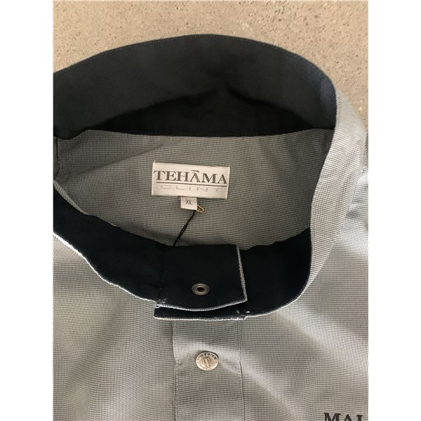 Clint Eastwood worn and signed Tehama pullover