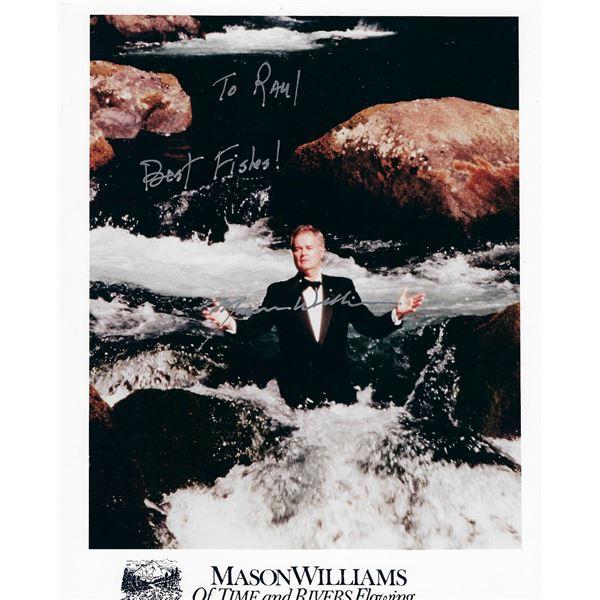 Mason Williams signed photo