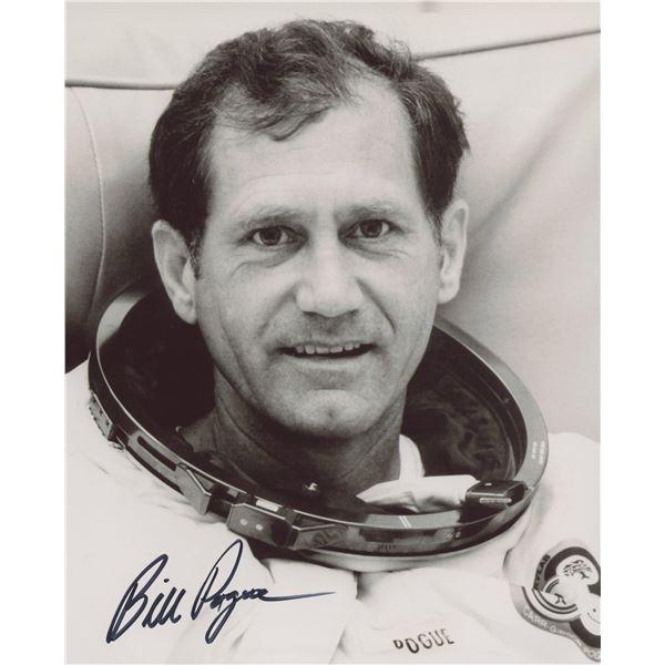 NASA Bill Pogue signed photo