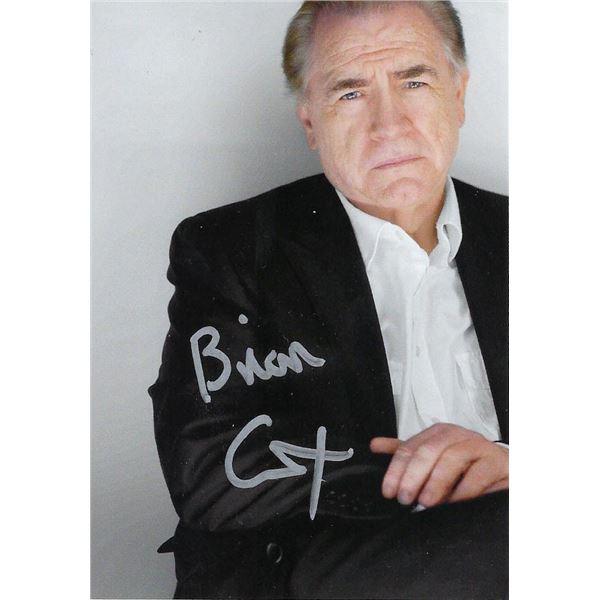 Succession star Brian Cox signed photo