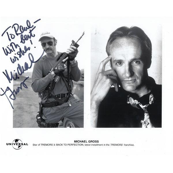 Michael Gross signed photo