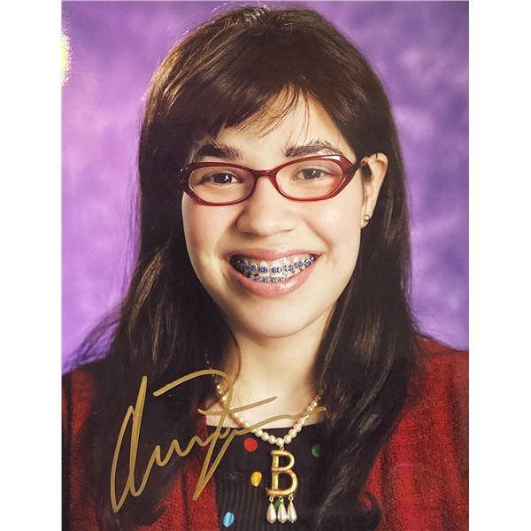 Ugly Betty America Ferrera Signed Photo