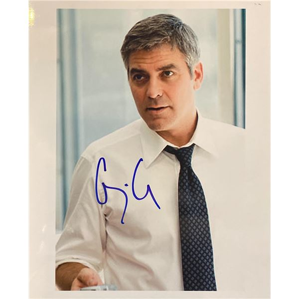 Michael Clayton George Clooney Signed Movie Photo