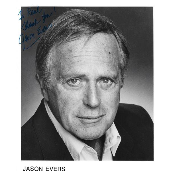 Jason Evers signed photo