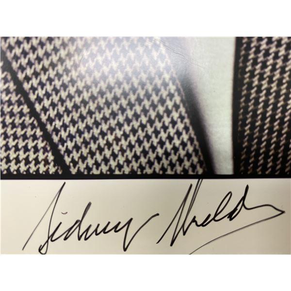 Author Sydney Sheldon signed photo