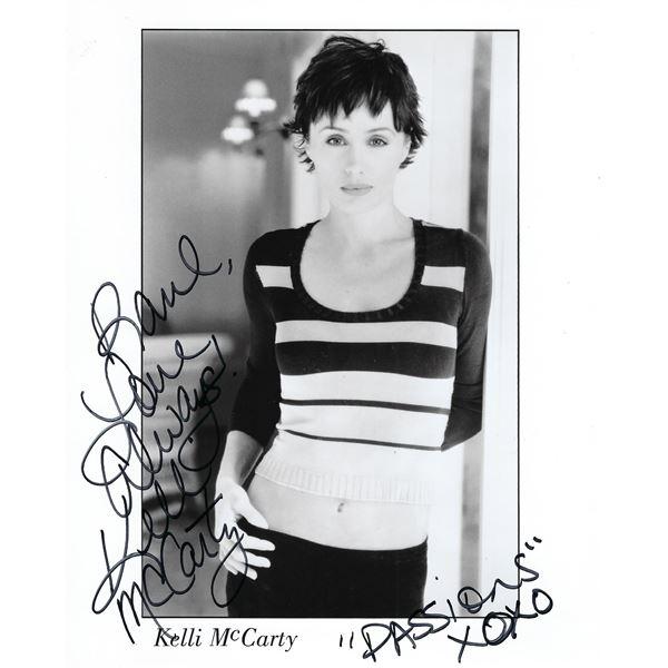 Kelli McCarty signed photo