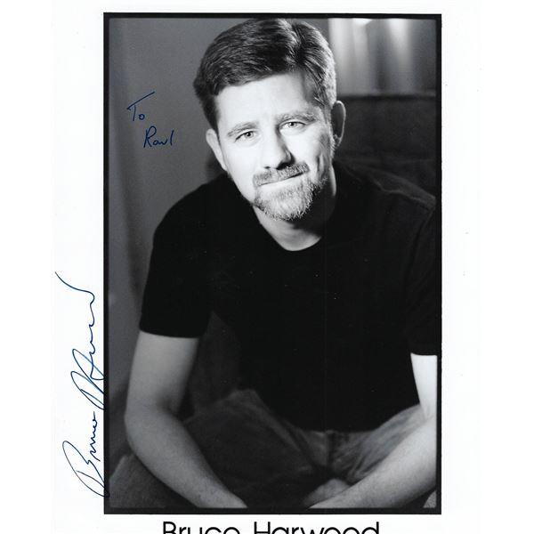X Files Bruce Harwood signed photo