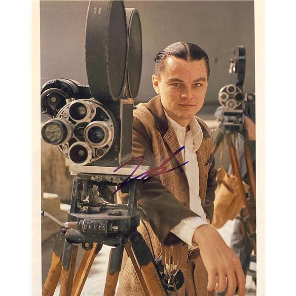 The Aviator Leonardo DiCaprio Signed Movie Photo