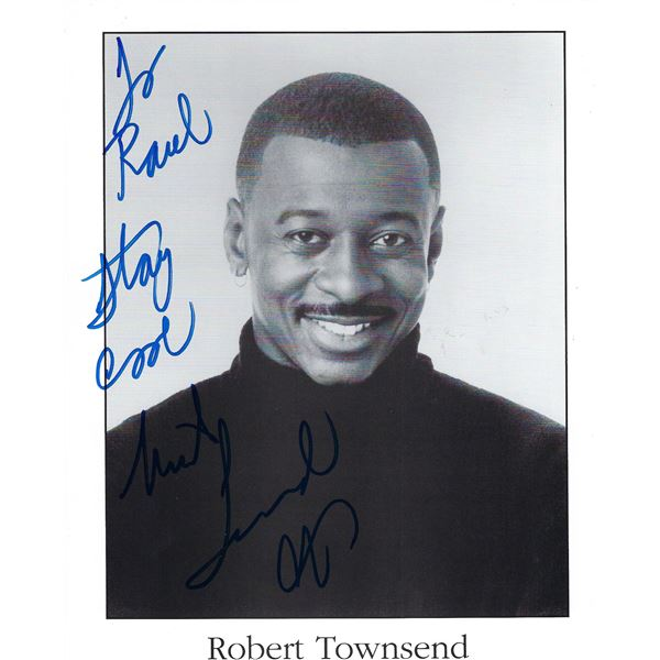 Hollywood Shuffles Robert Townsend signed photo