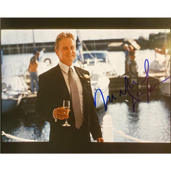 Michael Douglas Signed Photo