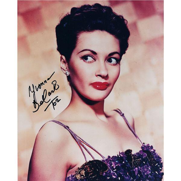 Yvonne De Carlo signed photo