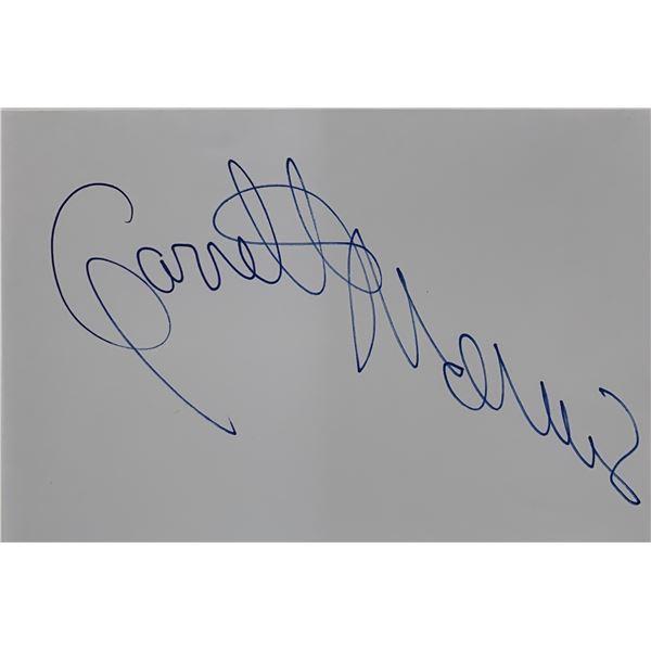 Saturday Night Lives Ladies Man Garrett Morris original signature cut